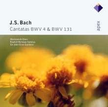 Johann Sebastian Bach (1685-1750): Kantaten BWV 4 & 131, CD