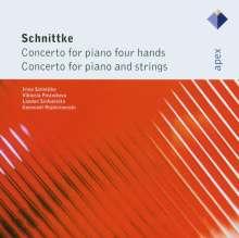Alfred Schnittke (1934-1998): Konzert für Klavier & Streicher, CD
