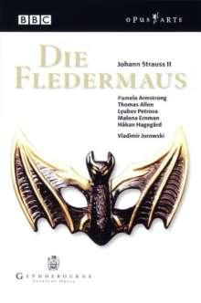 Johann Strauss II (1825-1899): Die Fledermaus, 2 DVDs