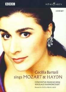 Cecilia Bartoli singt Mozart & Haydn, 2 DVDs