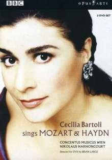 Mozart / Haydn: Bartoli, 2 DVDs