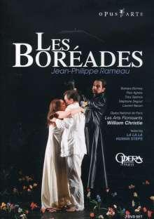 Jean Philippe Rameau (1683-1764): Les Boreades, 2 DVDs