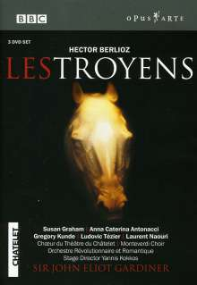 Hector Berlioz (1803-1869): Les Troyens, 3 DVDs