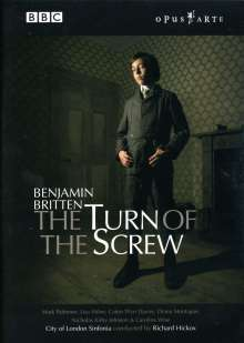 Benjamin Britten (1913-1976): The Turn of the Screw op.54 (Opernverfilmung), DVD