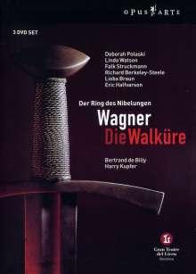 Richard Wagner (1813-1883): Die Walküre, 3 DVDs