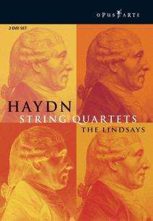 Joseph Haydn (1732-1809): Streichquartette Nr.32,35,39,43,57,58,79, DVD