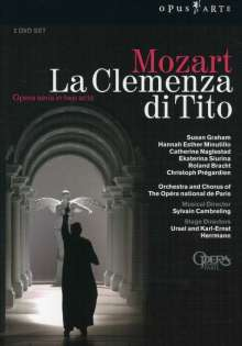 Wolfgang Amadeus Mozart (1756-1791): La Clemenza di Tito, 2 DVDs