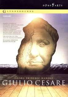 Georg Friedrich Händel (1685-1759): Giulio Cesare in Egitto, 3 DVDs