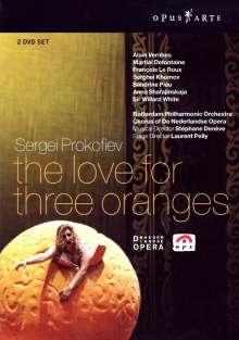 Serge Prokofieff (1891-1953): Die Liebe zu den drei Orangen, 2 DVDs