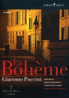 Giacomo Puccini (1858-1924): La Boheme, 2 DVDs