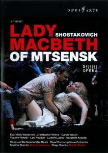 Dmitri Schostakowitsch (1906-1975): Lady Macbeth von Mtsensk, 2 DVDs