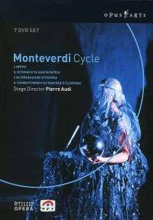 Claudio Monteverdi (1567-1643): Monteverdi Cycle (De Nederlandse Opera), 7 DVDs