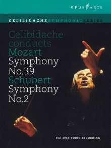 Sergiu Celibidache conducts Mozart & Schubert, DVD