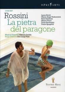 Gioacchino Rossini (1792-1868): La Pietra del Paragone, 2 DVDs