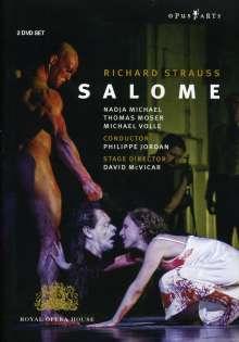 Richard Strauss (1864-1949): Salome, 2 DVDs
