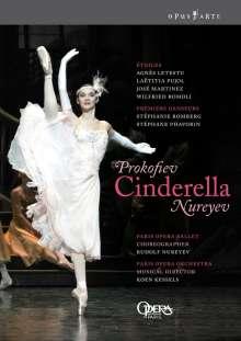 Paris Opera Ballet:Cinderella (Prokofieff), 2 DVDs