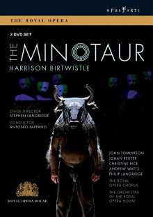 Harrison Birtwistle (geb. 1934): The Minotaur, 2 DVDs