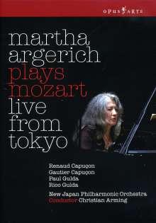 Martha Argerich spielt Mozart, DVD