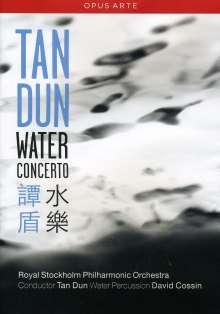 Tan Dun (geb. 1957): Water Concerto für Water Percussion & Orchestra, DVD