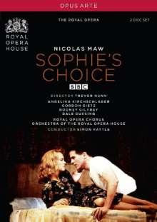 Nicholas Maw (1935-2009): Sophie's Choice, 2 DVDs