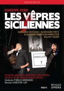 Giuseppe Verdi (1813-1901): I Vespri Siciliani, 2 DVDs