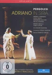 Giovanni Battista Pergolesi (1710-1736): Adriano in Siria, 2 DVDs