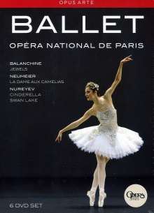 Ballet de l'Opera National de Paris, 6 DVDs