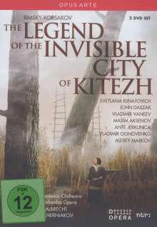 Nikolai Rimsky-Korssakoff (1844-1908): Die Legende der unsichtbaren Stadt Kitesh, 2 DVDs