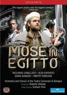 Gioacchino Rossini (1792-1868): Mose in Egitto (Fassung von 1819), DVD