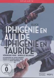 Christoph Willibald Gluck (1714-1787): Iphigenie in Aulis, 2 DVDs