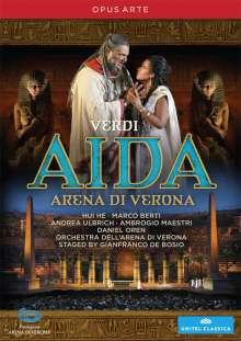 Giuseppe Verdi (1813-1901): Aida, DVD