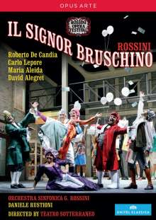 Gioacchino Rossini (1792-1868): Il Signor Bruschino, DVD