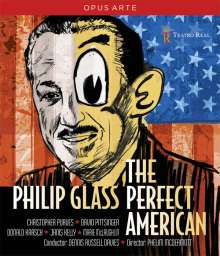 Philip Glass (geb. 1937): The Perfect American, DVD