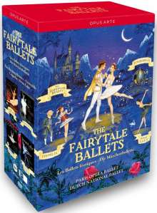 The Fairytale Ballets, 4 DVDs