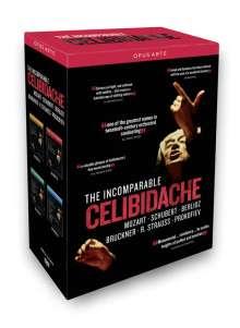 The Incomparable Celibidache, 4 DVDs