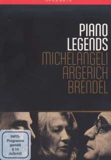 Piano Legends, 6 DVDs