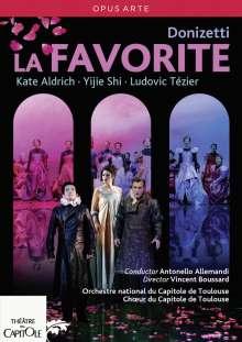 Gaetano Donizetti (1797-1848): La Favorita (Originalversion in französischer Sprache), DVD