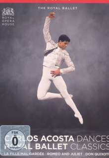 Royal Ballet Covent Garden:Carlos Acosta Dances / Royal Ballet Classics, 3 DVDs
