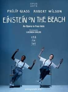 Philip Glass (geb. 1937): Einstein on the Beach, 2 DVDs