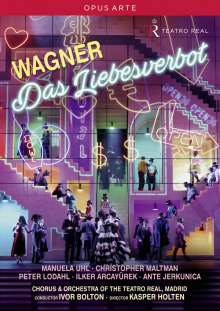 Richard Wagner (1813-1883): Das Liebesverbot, DVD