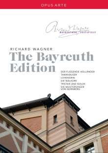 Richard Wagner (1813-1883): Richard Wagner - The Bayreuth Edition, 12 DVDs