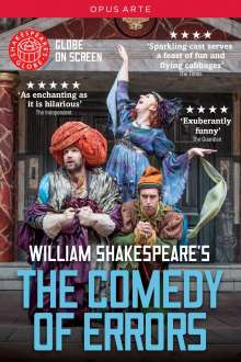 William Shakespear's: The Comedy Of Errors, DVD