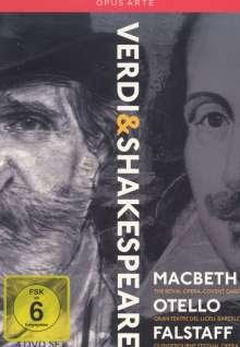 Giuseppe Verdi (1813-1901): Verdi & Shakespeare, 4 DVDs