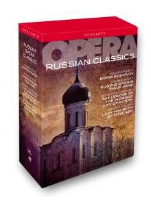 Russian Classics (5 Operngesamtaufnahmen), 8 DVDs