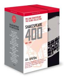 Shakespeare 400 - The Globe Collection, 21 DVDs