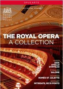 The Royal Opera - A Collection (6 Opern-Gesamtaufnahmen), 6 DVDs