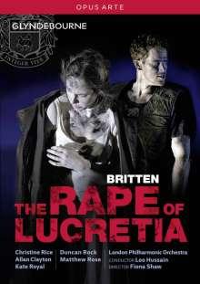 Benjamin Britten (1913-1976): The Rape of Lucretia, DVD