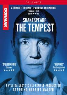 Shakespeare: The Tempest, DVD