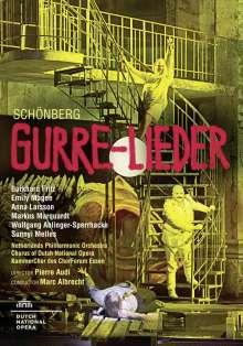 Arnold Schönberg (1874-1951): Gurre-Lieder für Soli,Chor & Orchester (Bühnenversion), DVD