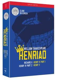 William Shakespeare: Henriad, 4 DVDs